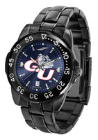 Gonzaga Bulldogs Fantom Gunmetal Sport AnoChrome Watch - Red Dial (Men's or Women's)