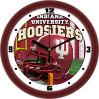 Indiana Hoosiers 12 Inch Round Wall Clock