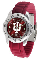 Indiana Hoosiers Sport AC™AnoChrome Watch - Red Silicone Band