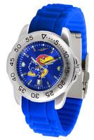 Kansas Jayhawks  Sport AC™AnoChrome Watch - Silicone Band