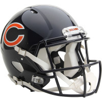 *Chicago Bears Authentic Proline Riddell Revolution Speed Football Helmet