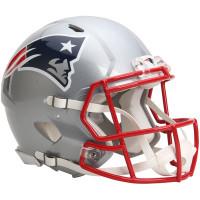 *New England Patriots Authentic Proline Riddell Revolution Speed Football Helmet