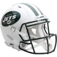 *New York Jets Authentic Proline Riddell Revolution Speed Football Helmet