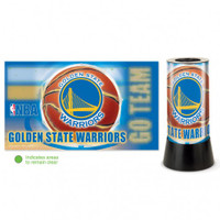 Golden State Warriors Rotating Team Lamp