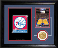 "Philadelphia 76ers ""Fan Memories"" Desktop Photomint"