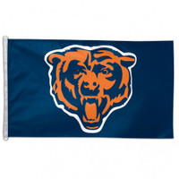 Chicago Bears Team Flag