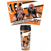 Cincinnati Bengals 16oz Travel Mug
