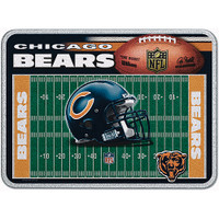 Chicago Bears Glass Cutting Board