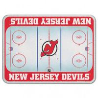 New Jersey Devils Glass Cutting Board