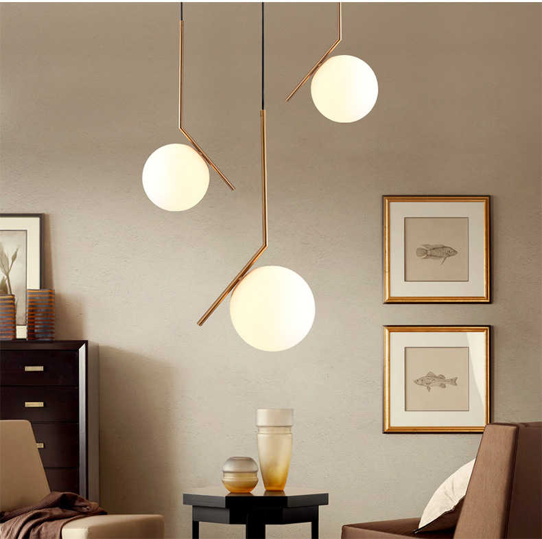 Postmodern Glass Ball Pendant Lights-horizonlights