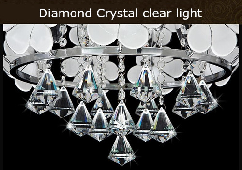 Sophie LED European-style crystal chandelier led chandelier creative personality living room chandelier bedroom restaurant lights lamps lighting:Horizon-lights