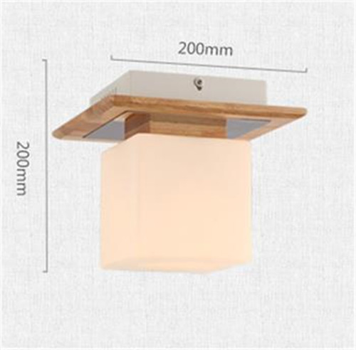 Voglio 20cm*20cm Wood LED Ceiling Lights Singapore;Horizon-lights
