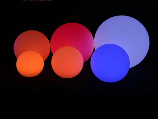Colorful Waterproof LED Luminous Sphere;Horizon-lights