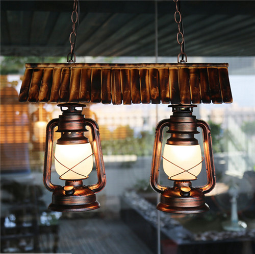 Bamboo Retro Pendant Lights;Horizon-lights