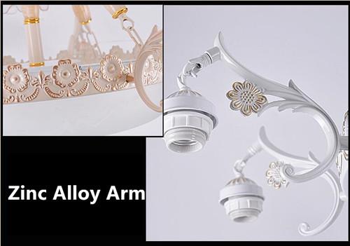 Sophie  LED pendant lights European metal and glass living room / bedroom room  / restaurant ;Horizon-lights