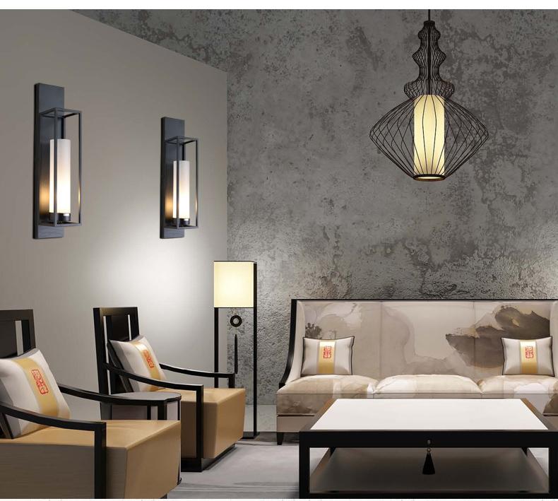 Voglio 5W wrought iron glass lamp Chinese Great Wall Singapore;Horizon-lights