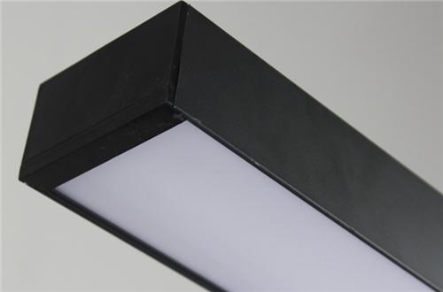 Voglio  LED Ceiling Pendant Fixtures Modern Linear Acrylic Hanging Lamp Light:Horizon-lights