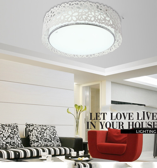Voglio LED LED Ceiling light Modern European style hollow acrylic style for cozy living room childeren room:Horizon-lights