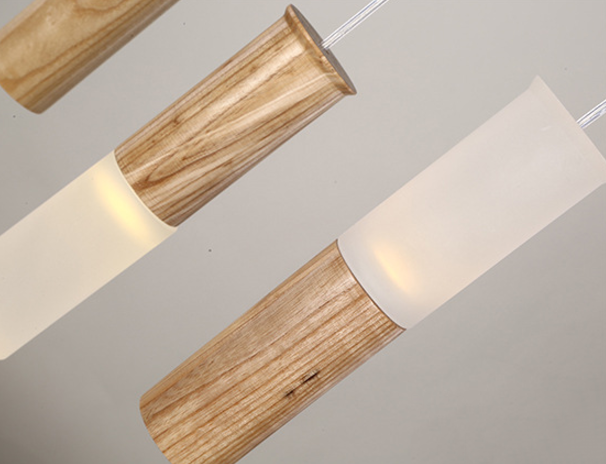 Wooden Match Heads Pendant Lamp