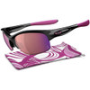 Oakley Womens Sunglasses - Commit Sq - Black/Breast Cancer