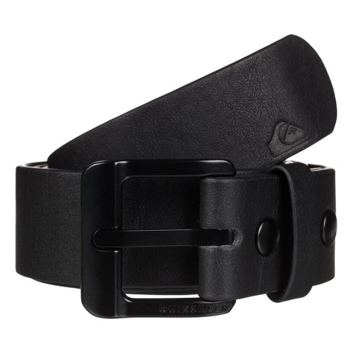 Quiksilver Main Street II Faux Leather Belt - Black 476
