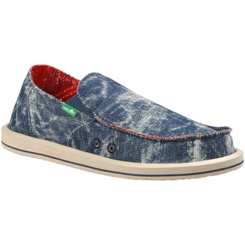 Sanuk Shoes - Donny Acid - Blue