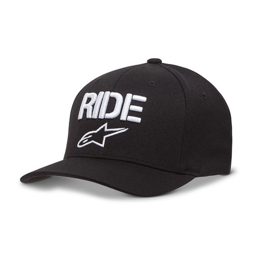 Alpinestars Hat - Ride Curve - Black/White