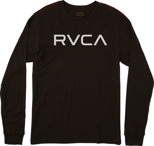 RVCA Tee Shirt - Big RVCA LS - Black