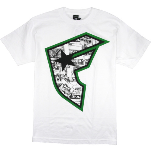 Famous Tee Shirt - Money Talks BOH - White