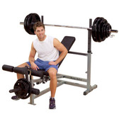 BodySolid GDIB46L Powercenter Olympic Combo Bench
