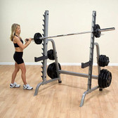 BodySolid GPR370 Multi Press Squat Rack