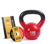 GoFit 15lb Kettlebell w/ Workout DVD