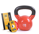GoFit 25lb Kettlebell w/ Workout DVD