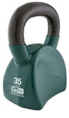 GoFit 35lb Contour Kettlebell w/ Workout DVD