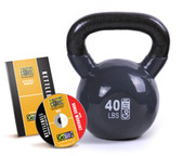 GoFit 40lb Kettlebell w/ Workout DVD