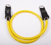 GoFit Single Extreme Resistance Power Tube - Yellow/70 lbs.