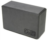 GoFit Premium Yoga Block - Gray