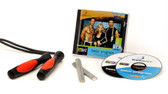 GoFit RopeSport Jump Rope Program with Workout DVD and Audio CD