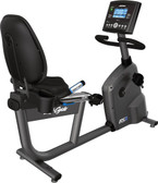 Life Fitness RS3 Recumbent Bike with GO Console