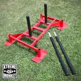 Xtreme Monkey Professional Driving Power Sled Red