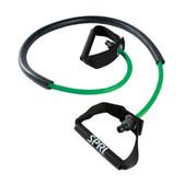 Spri Green Xertube With Sleeve (Light Resistance)