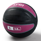 Spri Pink Xerball Medicine Ball - 8lb