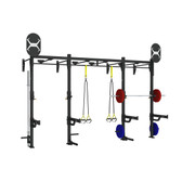 Torque 14 X 4 Foot Monkey Bar Wall Mount Rack - X1 Package