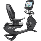 Life Fitness Platinum Club Series Recumbent Lifecycle with Discover SE3 Touch Screen Console