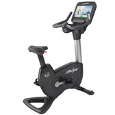 Life Fitness Platinum Club Series Upright Bike with Discover SE3 Touch Screen Console
