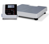 Rice Lake 150-10-7 Floor Level Digital Physician Scale 550 lbs.