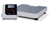 Rice Lake 150-10-7 Floor Level Digital Physician Scale 550 lbs.