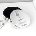 Personalised Ballerina Jewellery Trinket Box