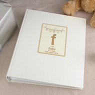 Baby name personalised photo album