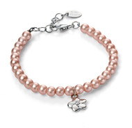 B4787 D for Diamond Girls Pearl Bracelet